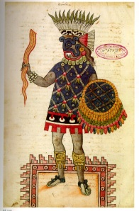 Tlaloc, Aztec Water God, courtesy of Minnesota State Colleges and Universities