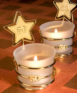 Candles from Waterblogged.info's gala invitation-only celebration of Atrazine's 50th anniversary!